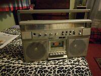 triumph sr5000 boombox-approx 1983