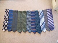 Men's Tie Selection (11 in total - see image)