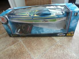 SUPERCAT RADIO CONTROLLED BOAT
