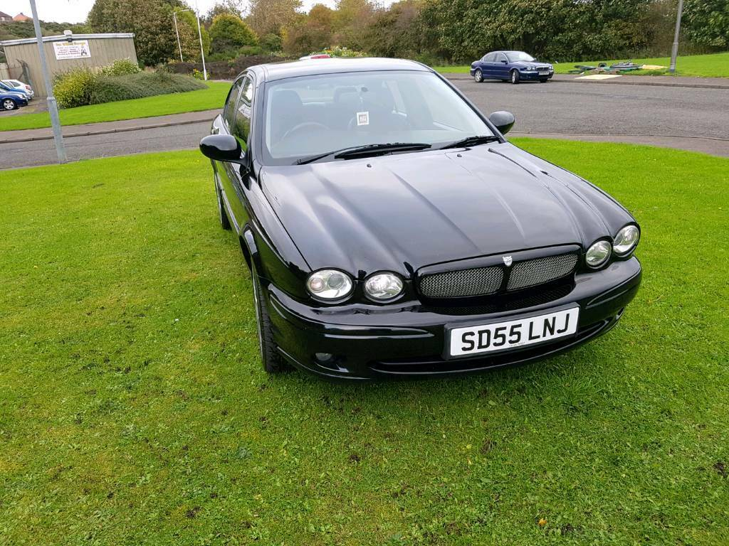 Jaguar x type sport d 2005 JUSTED moted