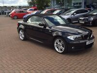 **BMW 120D M SPORT CONVERTIBLE** LOW MILEAGE, GREAT CONDITION! £11,000 ONO!