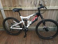 Apollo Paradox Mens Full Suspension Mountain Bike