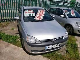 Vauxhall corsa 1.2 16v