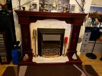fire surround hearth & marble