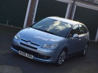 1.6Citroen c4**Exclusive range**Leather Interior***Low Milles***IMMACULATE CONDITION**