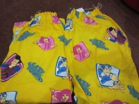 """Lazy Town Curtains 2 pairs. 52"""" drop 63"""" width per curtain. Excellent condition"""