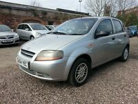2004 KALOS 1.1 PETROL = ONE YEAR MOT = LOW MILEAGE, EXCELLENT CONDITION