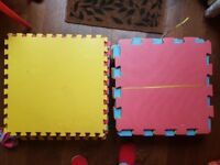 33 Kids foam safety play mats/tiles. Good condition, fit together
