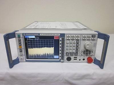 Rohde Schwarz Fsl6 9khz-6ghz Spectrum Analyzer W Opts B10k7k8 - Calibrated