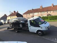 2007 Ford Transit Lwb Tow Recovery Truck 2.4 Diesel Manual Solid body Can carry anything NO RUSH
