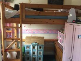 Flexa hi sleeper bed
