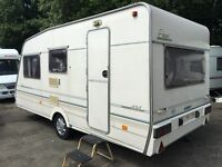 ☆ ABBEY PIPER 1996/97 MODEL ☆ 4 5 BERTH TOURING CARAVAN ☆ LIGHTWEIGHT 832KG CHEAP TRADE PX 2 CLEAR ☆