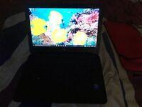 HP laptop with windows 10