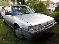 1991 Rover 216 GSi Automatic, very low mileage, great condition, only 1 previous owner