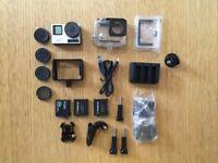 GoPro Hero 4 + FeiyuTech Gimbal + Accessories Kit