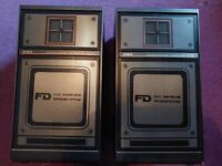Vintage Aiwa Speakers : Sx F20 30w - Bookshelf loudspeakers *Perfect condition*