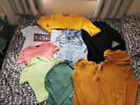 Bundle of womens size uk6 and uk8 clothes