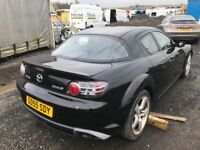 Mazda Rx-8 car breaking spare parts available