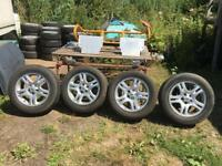Land Rover Range Rover Alloy Wheels Vogue Discovery 3 18 Inch fit VW T5 load rated 940kg 5 x 120 pcd