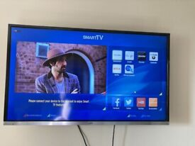 smart jvc 40 inch full hd led tv+buit in apps+wifi+remote+wall bracket+DELIVERY