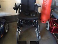 Enigma Electric folding wheelchair new with 12 months warranty