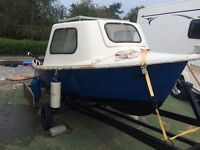 13ft boat + trailer + 3hp Mac outboard