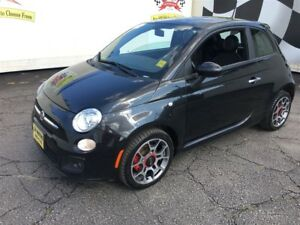 2012 Fiat 500 Sport, Manual, Leather, Heated Seats