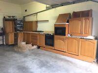 Parador German Solid Oak Kitchen including Appliances