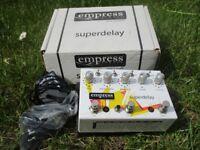 Empress Superdelay Pedal