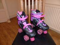 SFR Racing Storm Adjustable Roller Skates Size 3-6