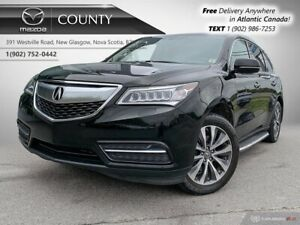 2015 Acura MDX $96/WK+TAX! SH-AWD! NAV! 7 PASSENGER! NEW TIRES!