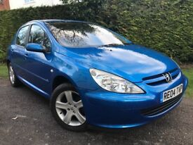 2004 Peugeot 307 1.6 manual full service history March mot drives very well indeed