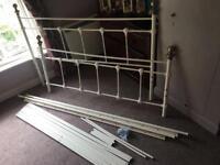 King size bed frame,