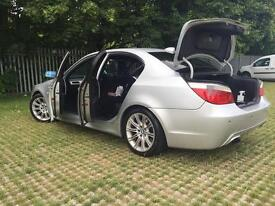 BMW 525 D M SPORT FSH QUICK SALE £3600 ONO . 147000 miles 4 owners only