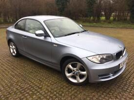 85000 MILES BMW 120I SPORT COUPE FULL MAIN DEALER SERVICE HISTORY DRIVES AS NEW