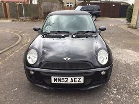 2002 MINI Hatch 1.6 Cooper 3dr Fully HPI Clear @07445775115@ 07725982426@