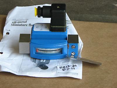 New Krohn All-metal Mini Flowmeter Dk34k2s Md 2001