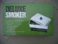 Food smoker, portable smoking oven