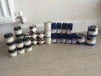 Paint sample pots X 32