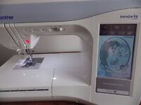 Brother Innov Is 1500D Disney Sewing & Embroidery Machine plus extra hoops and lots of patterns!