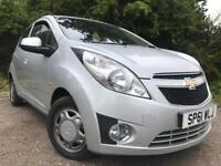 Chevrolet Spark 2012 Full Years Mot Low Mileage Cheap Insurance Great First Car ! Corsa Kalos Polo