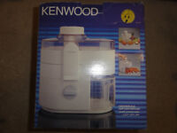 Kenwood JE500 Centrifugal FRUIT & VEGETABLE JUICER - IDEAL FOR SMOOTHIES