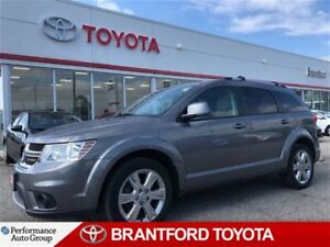 2013 Dodge Journey Crew, 19 Inch Chrome Wheels, Sunroof, DVD