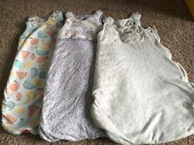 Baby sleeping bags bundle