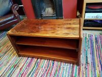 Lovely wooden coffee table/TV stand - £30 ono