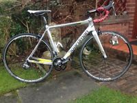 boardman pro 2015 full carbon road bike,53cm frame,700c acksium,wheels,105 shifters/gears/calipers