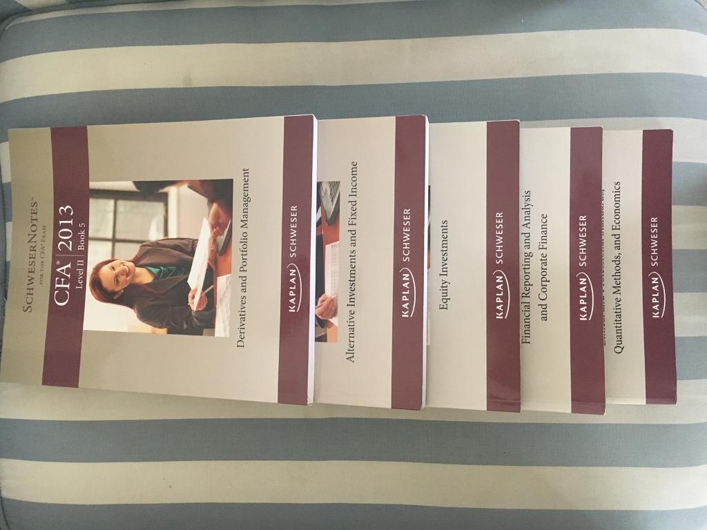 CFA Level II Exam Preparation. All 5 books