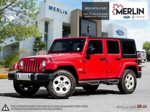 2014 Jeep WRANGLER UNLIMITED Sahara PST PAID