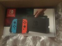 Nintendo Switch Console (Neon Red/Blue)