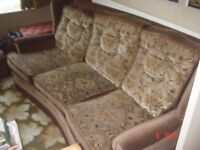 Sofa & Armchair-Excellent condition. FREE